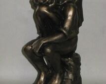 Cthulhu Thinker Bookend Statue