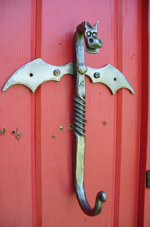 X Large Dragon Hook Forged By Blacksmith Naz