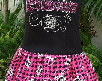 Custom Boutique Princess Dress Pirate Dress Birthday Dress Girls Dress Pirate Party Kids Princess Dress Available 0-3 mo through Size 6/8