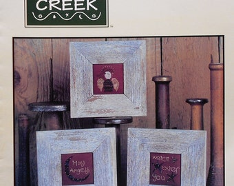 Bent Creek THE WATCHFUL Angel - Counted Counted Cross Stitch Pattern Chart
