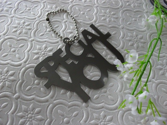 Metal Gift Tag with chain Special You