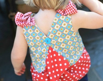 50% OFF Baby Pinafore pdf sewing pattern, pinafore pattern, dress tutorial, easy dress, PDF sewing pattern, how to sew