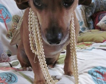 Beautiful Classic Old Fashion Glass Pearls...almost anyone could wear