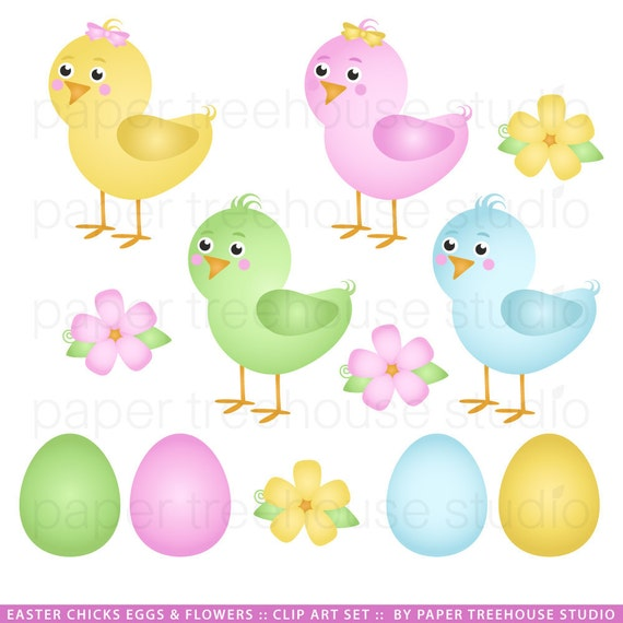 Items similar to Sale Easter Clip Art - Easter Theme ...