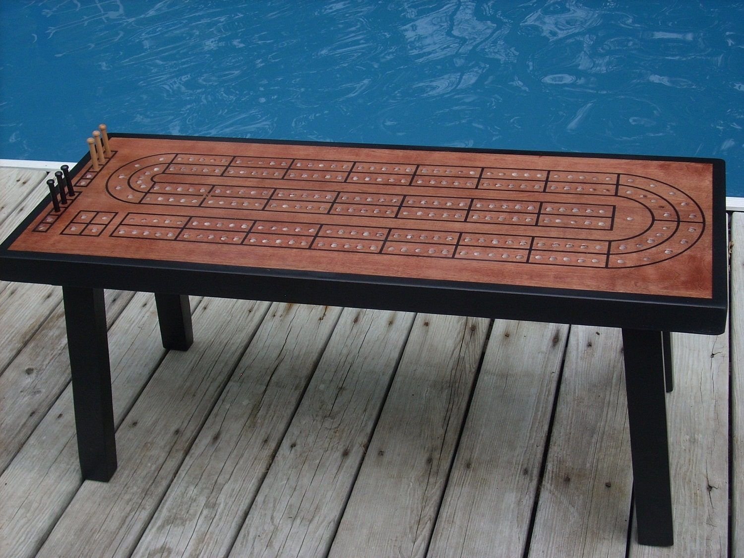 coffee table cribbage board unique coffee table cribbage