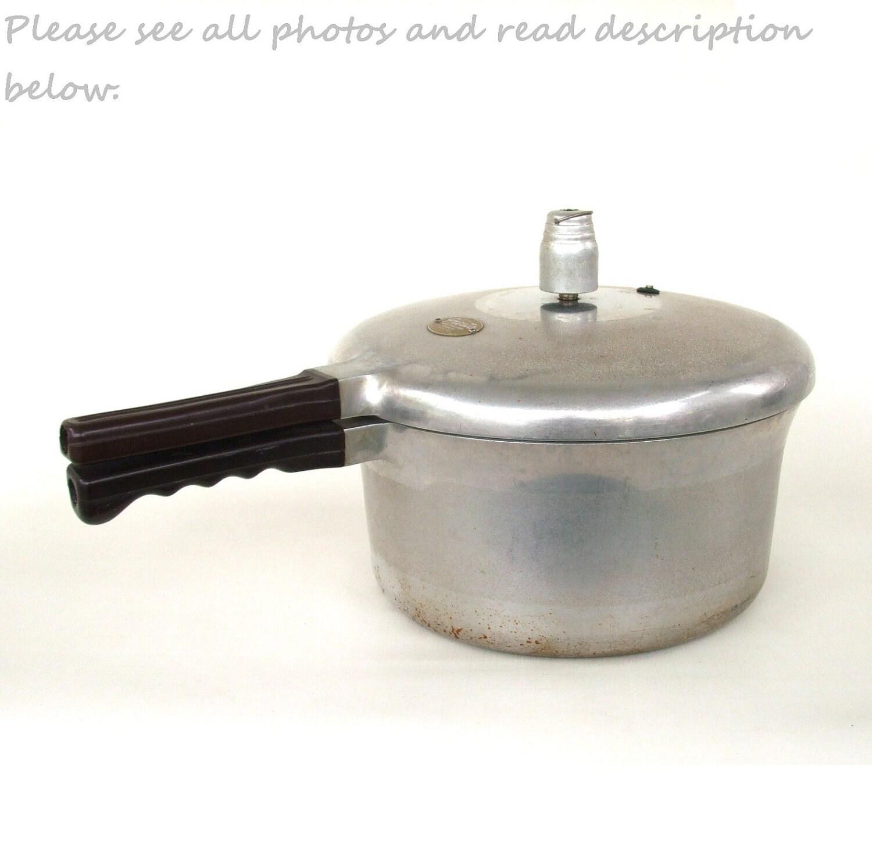 Vintage Presto Pressure Cooker 6 Quart 406 By Lauraslastditch
