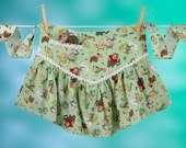 Vintage Apron Dress, Fairy Tale Apronafore Bibock