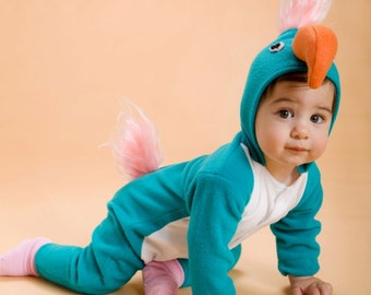 Baby Gift/ Turquoise Parrot/ Baby Gift/ Baby Outfit/ Babies Gift/ Gift for Baby/ Infant gift/ Halloween costume