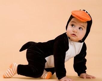 Penguin Baby Costume/Halloween baby Costume/ Kids Costume