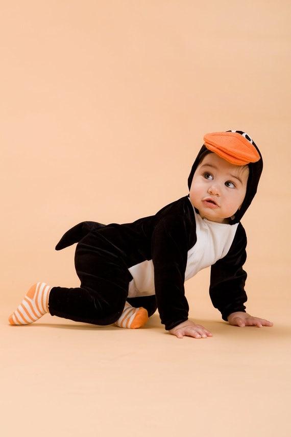 kids halloween costume penguin