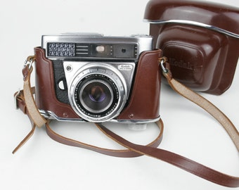 Vintage Kodak Retina IIF Camera with Case and Strap Circa 1963-1964.  Made in Germany.  REDUCED