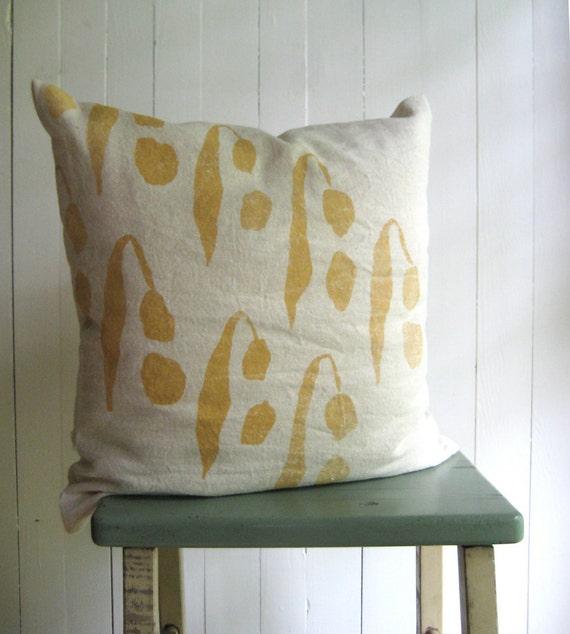 SALE / Hemp Pillow Cover / Gossypium