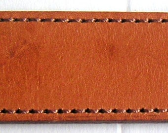 Vintage Leather Belt, Southwest Style