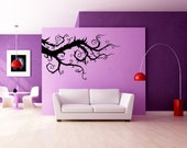 Whimsical Burtonesque Branch - Decal, Vinyl, Sticker, Home, Wall, Kid's Bedroom, Office, Dorm Decor