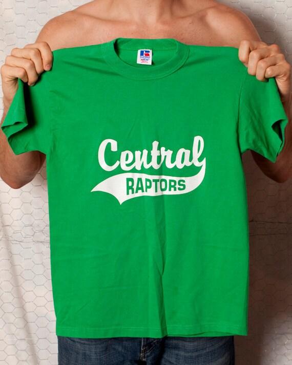 CENTRAL RAPTORS - Hip Green Tshirt - Brendan 6