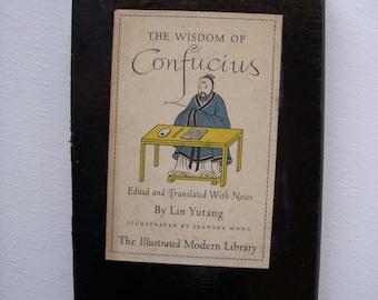 1943 The wisdom of Confucius book