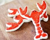 Lobster Decorated Sugar Cookies
