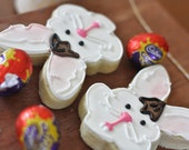 Bunny Face Cute Decorated Sugar Cookies