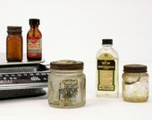 Apothecary Collection - Vintage Bottles and Medicine Jars