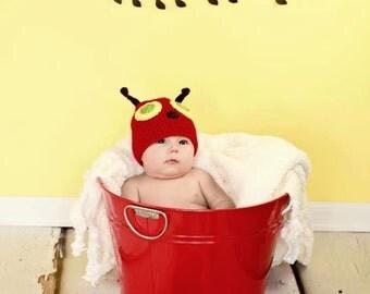 Caterpillar Hat - newborn, baby, toddler, child, photo prop