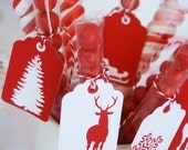 CHRISTMAS Printable Gift Cards & Gift Tags - Let it Snow Design