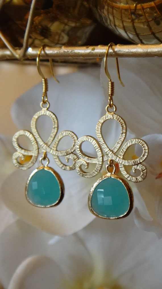 Royal Gems Crystal Tiara Chandelier Dangle Earrings, Chandelier Earrings, Wedding Jewelry, Bridal Party, Gemstone Earrings, Crystal Earrings