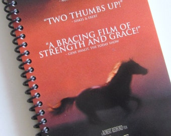 HORSE WHISPERER Notebook Journal Spiral notebook Repurposed VHS movie