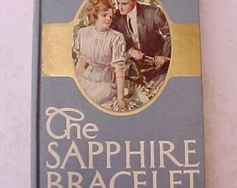 "Gorgeous 1910 Era Book- ""The Sapphire Bracelet"" by Edward Salisbury Field"