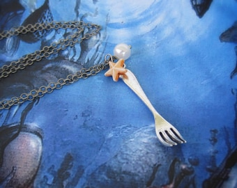The Little Mermaid Dinglehopper Necklace