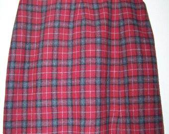 Pretty Plaid Skirt
