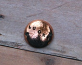 LUCKY PENNY Hand Stamped Coin