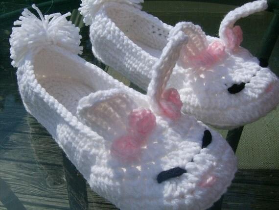 Mama G's Big Crafty Blog: Free Floppy Bunny Crochet ...  |Baby Bunny House Slipper Crochet Pattern