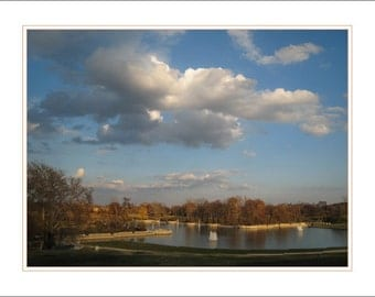Big Sky over the Grand Basin - Forest Park, St. Louis MO