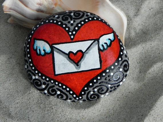 The Message in My Heart / Painted Rock / Sandi Pike Foundas / Cape Cod