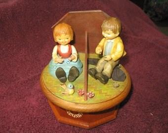 Impossible Anri Music Box Reuge Vintage