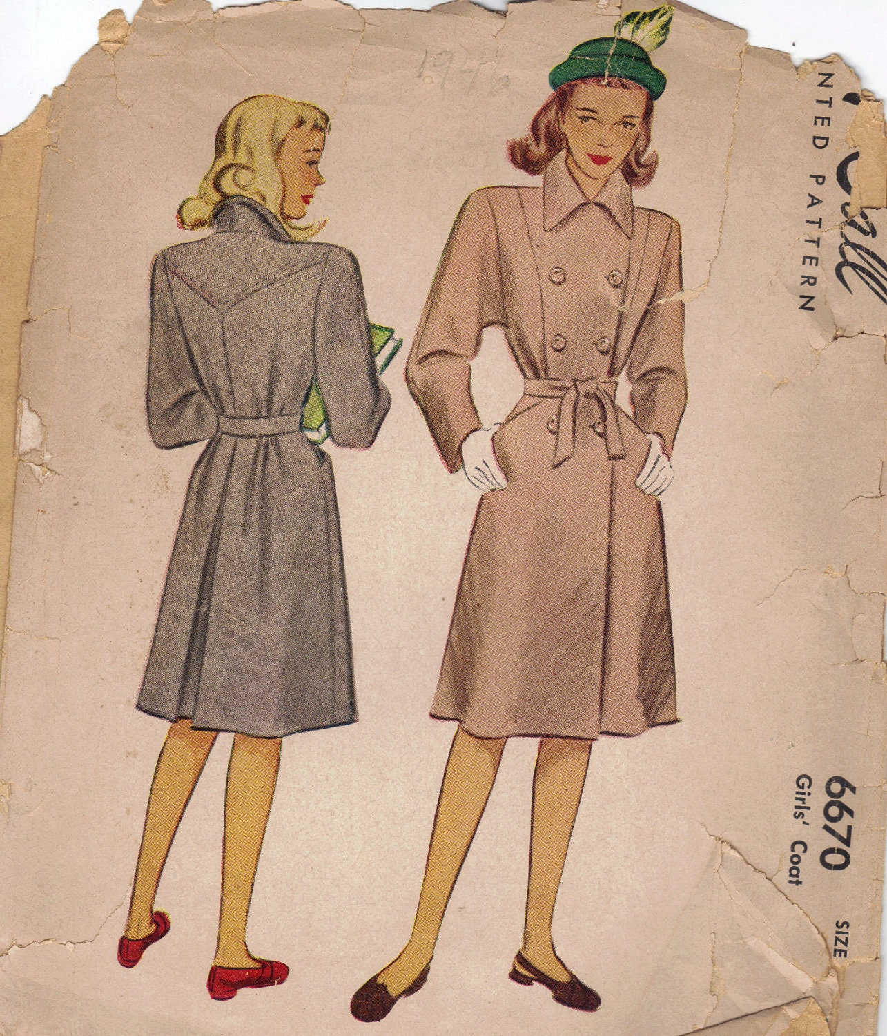 Trench Coat Sewing Pattern 120