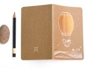 Dream Journal Travel Notebook Hedgehog Bear