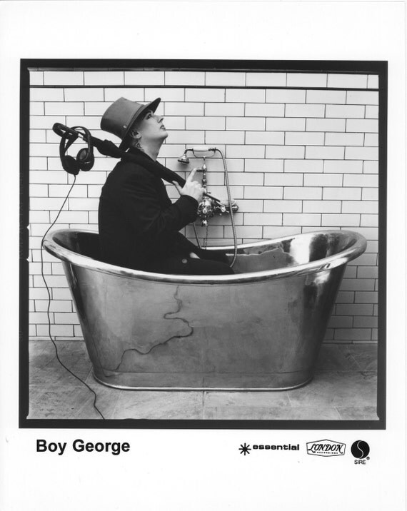Boy George Publicity Photo     8 by 10 inches