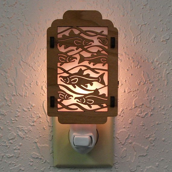 Salmon Night Light with Salmon sides