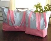 FREE SHIPPING on TOTES Set of 2 Flamingo Totes