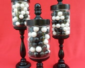 Apothecary Jar / Decorative Jar - Set of 3
