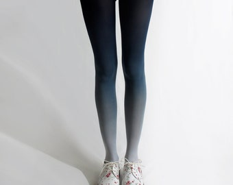 BZR Ombré tights in Navy *Discontinued*