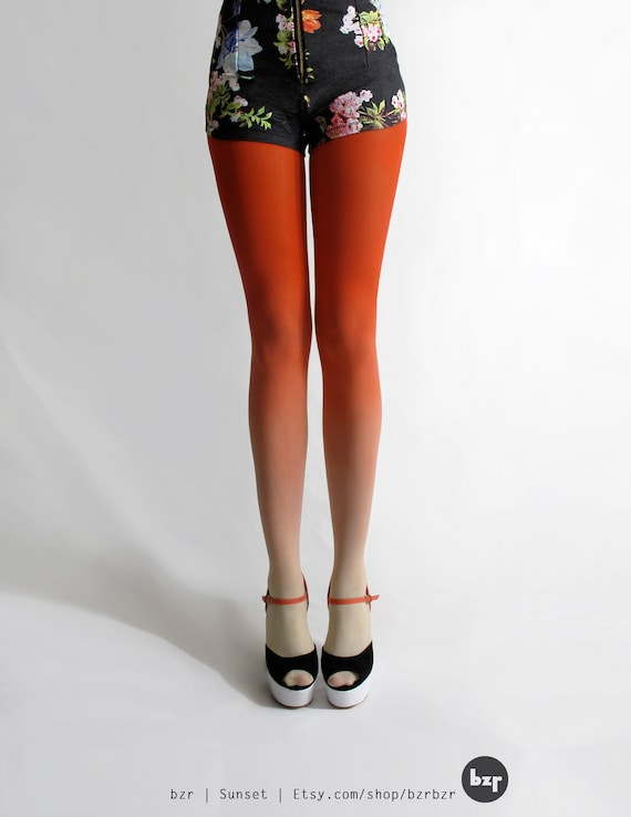 BZR Ombré tights in Sunset *Discontinued*
