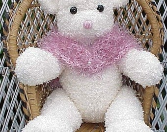 Bear Furry CROCHET PATTERN Teddy Bear Lovely Lady
