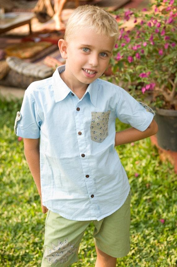 Light blue Shirts,Boys Shirts, Boy Toddler Clothes ,Summer Shirt,Boys Tshirt,Summer Shirts,Toddler Shirts,Birthday Shirts,Cowboy Shirt