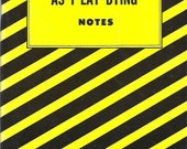 Cliffs Notes As I Lay Dying  FAULKNER 1964