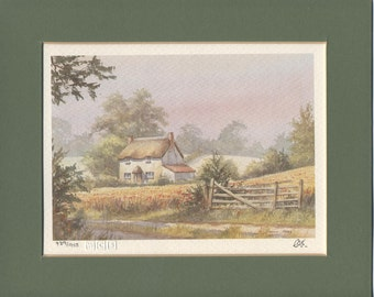2 Beautiful Vintage limited Edition prints by Clive Pryke countryside
