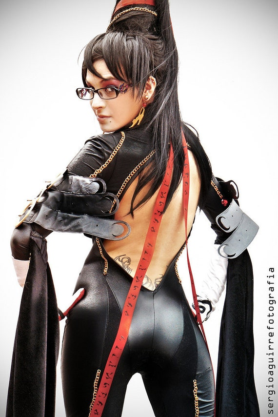 Bayonetta suit cosplay custom made