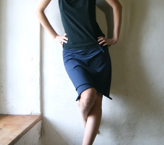 Wrap skirt, Cotton skirt, Blue skirt, Jersey skirt, Womens clothes, Womens skirt, Pencil skirt, Maternity skirt, plus size skirt, Mini skirt