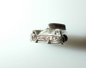 1957 Ford Fairlane Wrap Ring with Tire Band in White or Gold Bronze, and Sterling Silver